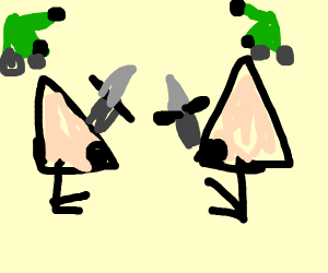 The war of the noses
