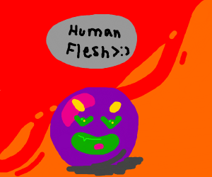 Gumball craves human flesh