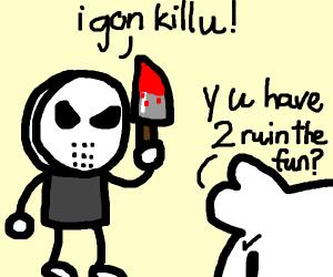 Murderer Spoils the Fun