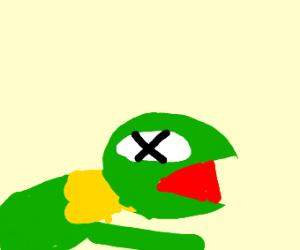 Kermit is dead