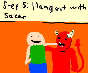 Step 4: drown and go to hell
