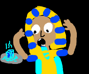 Pharaoh discovering an Icecube