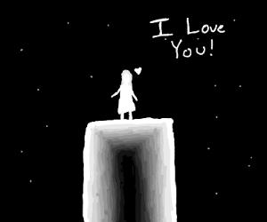 a girl loves you!