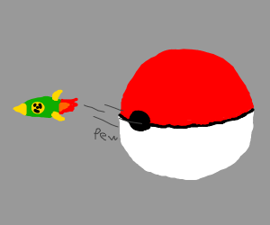 pokemon ball launching missile