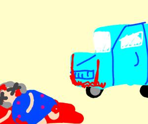 Roadkill grandma