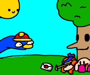 Kirby Universe finds Smash Invite