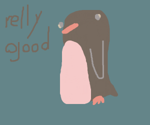 """derpy girl says """"relly good"""""""