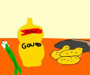 mustard pringles