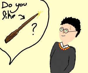 """""""Do you like magic, Harry?"""""""
