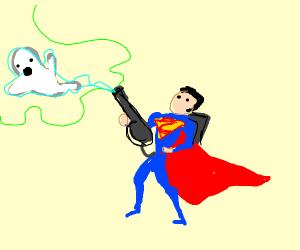 superman ghostbuster