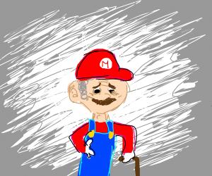 Elderly Mario