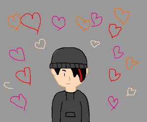 Emo kid is in love
