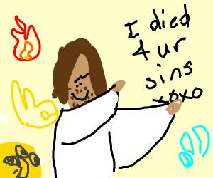 jesus doing interpretive dance