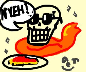 Fabulous Papyrus and his spaghetti