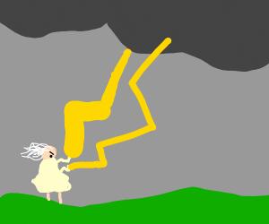 grandma zapping cloud