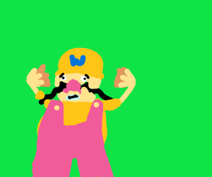 Wario loses all of his hair due to stress