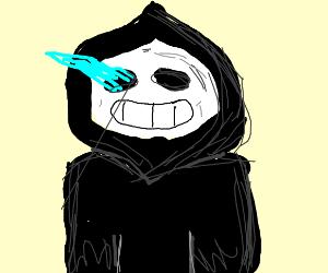 Sans is the grim reaper