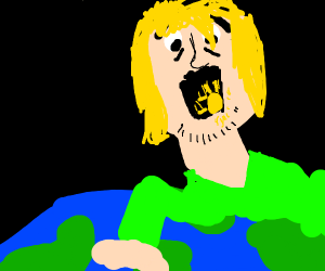 shaggy ate the sun (only 50perc of his power)