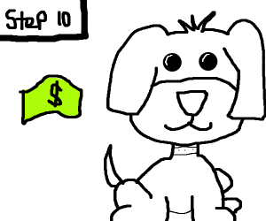 step 10 : buy a puppy