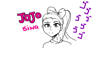 jojo siwa in jojo's bizzare adventure