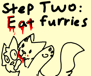 Step one: Become a furry