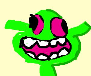 Shrek on LSD