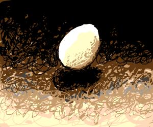floating egg