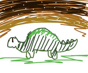A brontosaurus among the stars