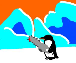 Murder penguin