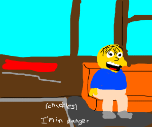 Chuckles I M In Danger Drawception Added about a year ago. chuckles i m in danger drawception