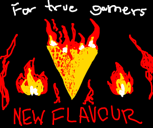 New flaming Doritos: Literally on fire
