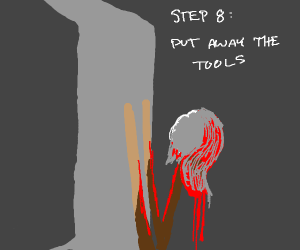 Step 7: Wipe up the mess you made