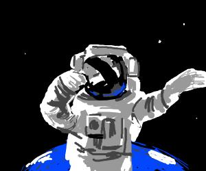 Luminous Astronaut