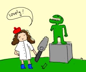 Zombie Sculptor
