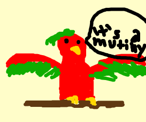 Parrot says it's a mutiny