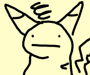 pikachu drunk