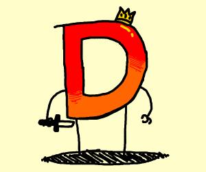 Evil-looking Drawception D