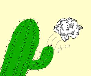 Littering cactus