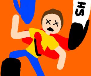 Morty Dies in Sharpie World