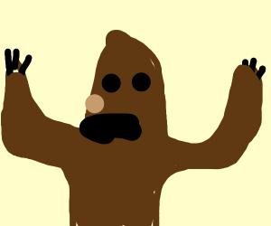 bear with a moustache