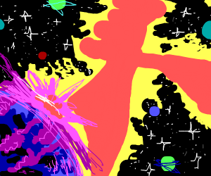 Colorful Spacescape