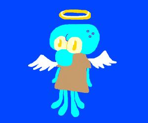squidward angel