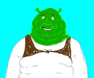 Super-fat Shrek