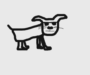 Sunglasses dog