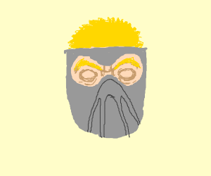 Cyborg face