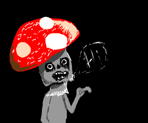 Creepy Fungal Man