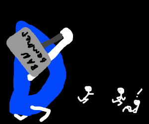 Drawception ban hammers people