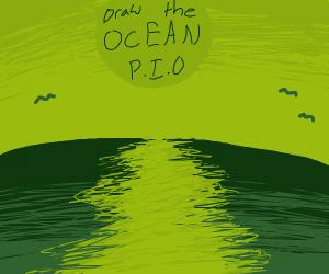 Draw the OCEAN PIO