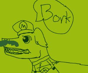 Mario Dog borks
