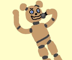Freddy Fazbear singing